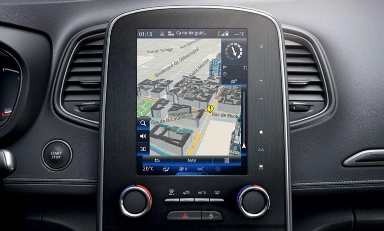 R-LINK 2 Navigation system   Renault EASY CONNECT